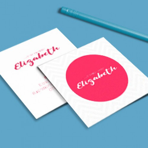 Square Single Sided Business Cards Gt Print And Design
