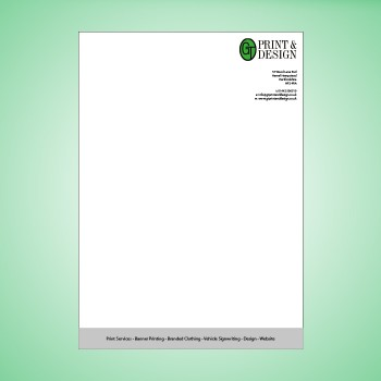 A4 Letterheads 120gsm