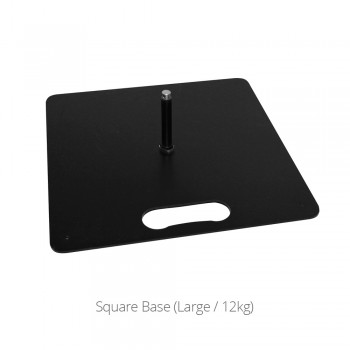 Metal Square Base